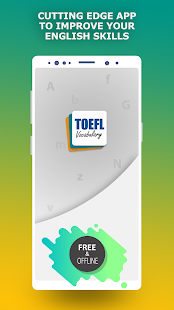 TOEFL preparation app. Learn English vocabulary Screenshot
