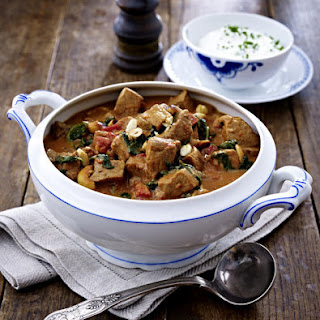 Pork and Spinach Goulash