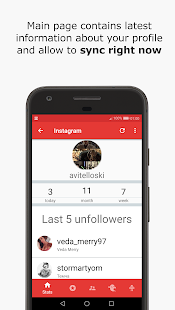 Dunno - unfollowers monitor for Instagram (Unreleased)- screenshot thumbnail