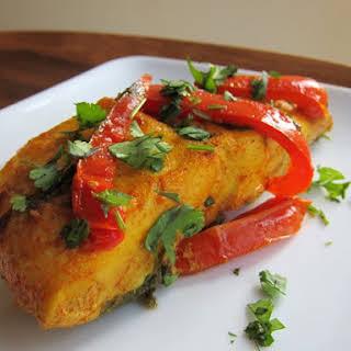 Maman's Moroccan Fish.