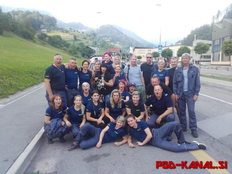 PGD Kanal - Regijsko tekmovanje v Cerknem