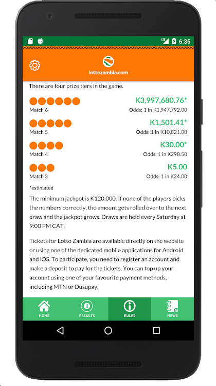 Lotto Zambia – (Android Applications) — AppAgg