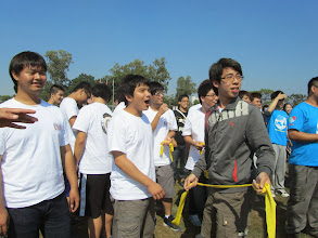 Photo: 兩人三腳團隊