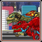 Dino robot Jump!