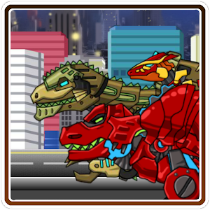Dino robot Jump! for PC and MAC