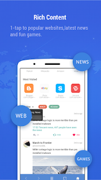 Minifier Browser - fast, small, weather and news