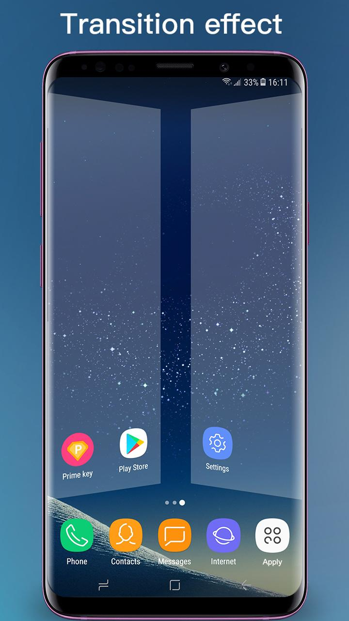 S Launcher - Galaxy S9 Launcher, S9/S8 theme, cool APK