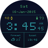 Retro Led Watchface Free