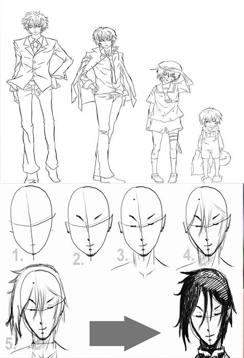 Anime Charaktere Zeichnen Screenshot