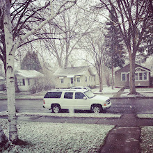 Photo: Snow. In May. In Minneapolis. In May. In MAY!!