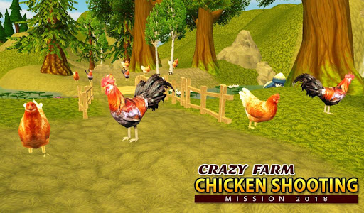 Crazy Farm Chicken Shooting Mission 2018