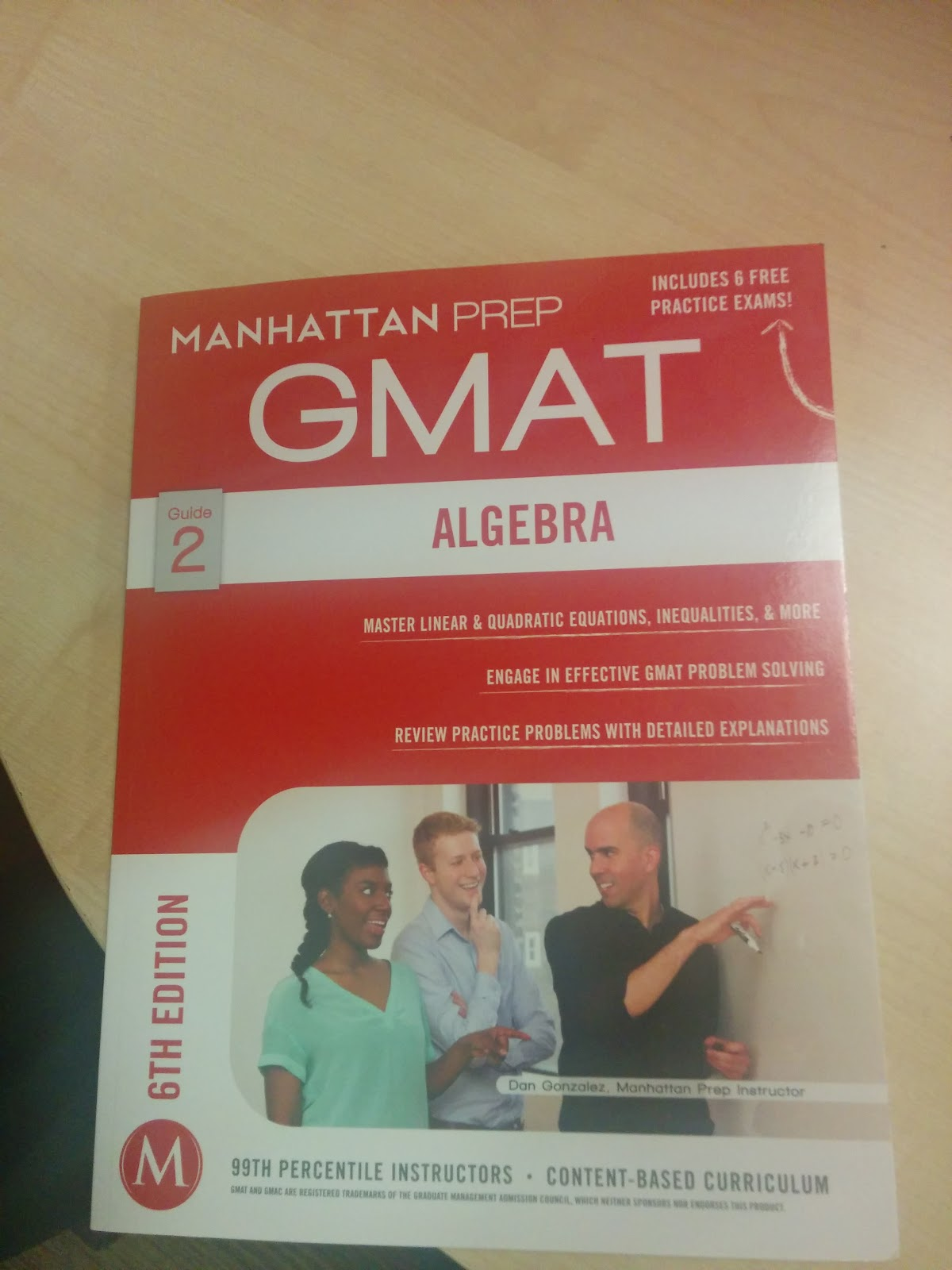 REVIEW: Manhattan GMAT's 6th Edition ALGEBRA Strategy Guide