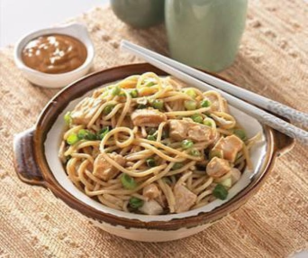 Peanut Noodles With Chicken Recipe