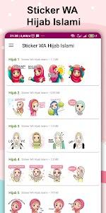 Sticker WA Hijab Islami 3.0