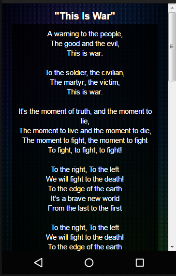 30 Seconds To Mars Lyrics  Android Apps on Google Play