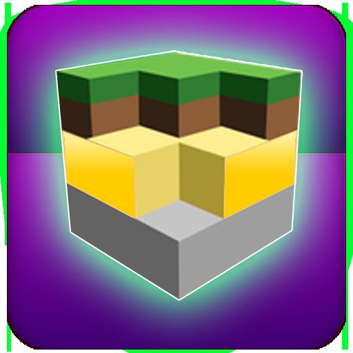 Crafting Pixel adventure world : pocket edition