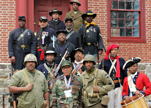 Photo: 3 Centuries of AA Soldiers
