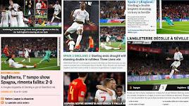 Sorpresa mundial por la derrota de España.