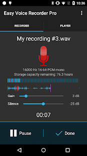 Easy Voice Recorder Pro- screenshot thumbnail