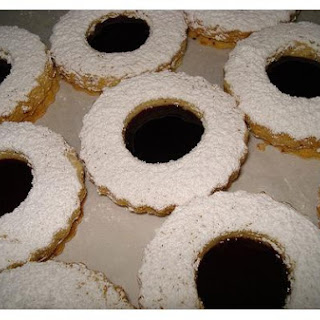 Linzer Fruit Cookies