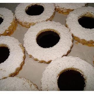 Linzer Fruit Cookies