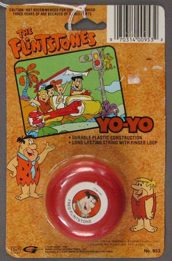 Yo-yo:The Flintstones Yo-Yo: Fred Flintstone