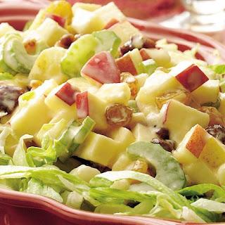 Winter Fruit Waldorf Salad.