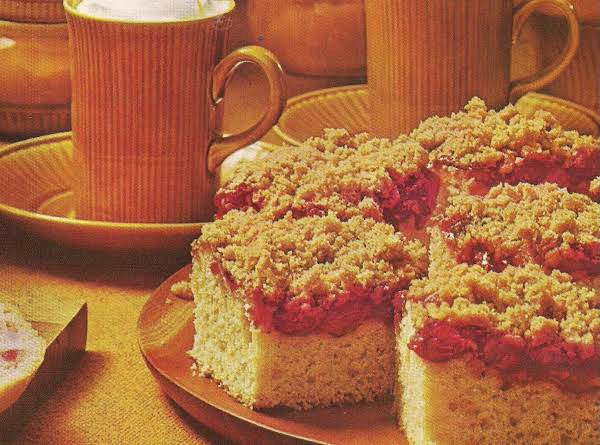 Cranberry Coffee Cake Recipe