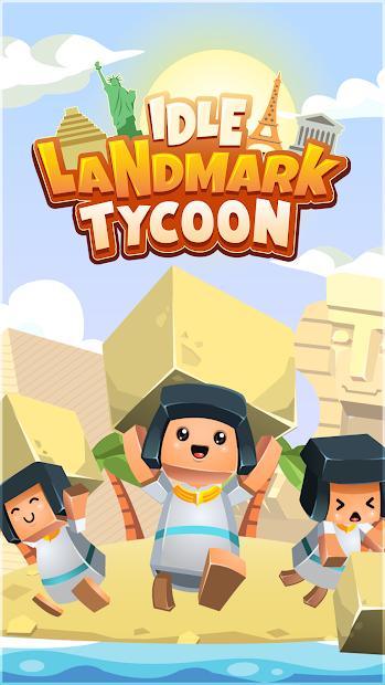 Idle Landmark Tycoon - Builder Game Android App Screenshot