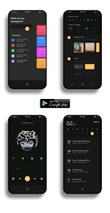 iCards for KLWP Screenshot