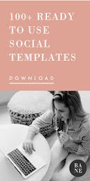 Over 100 Social Templates - Half Page Ad item