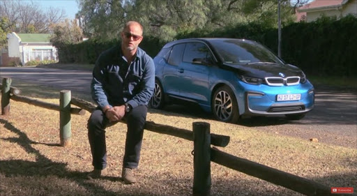 Marius Roberts and the 2018 BMW i3