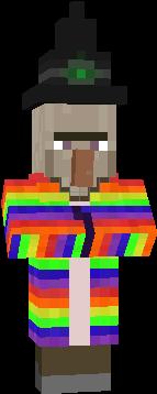 rainbow witch duh!