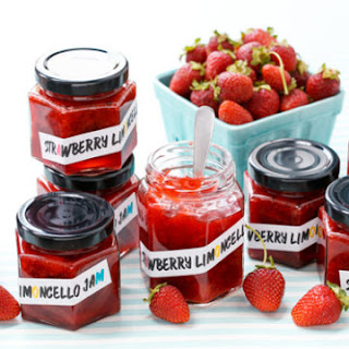 Strawberry Limoncello Jam.