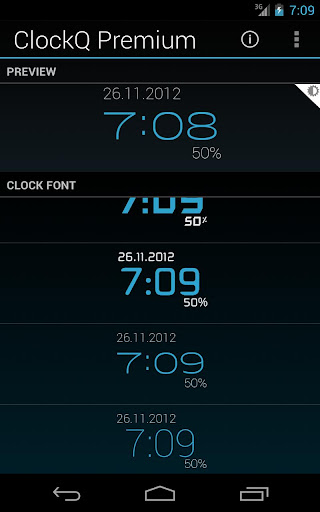 ClockQ screenshot 3