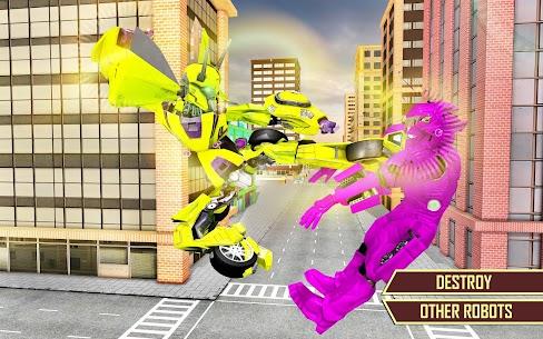 Flying Car Transformation Robot Wars Car Superhero 7