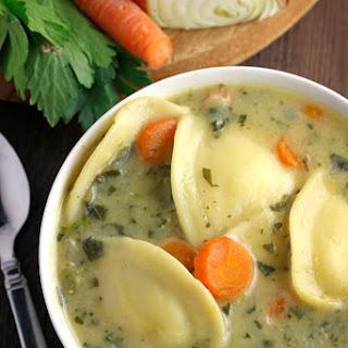 Creamy Ravioli Soup