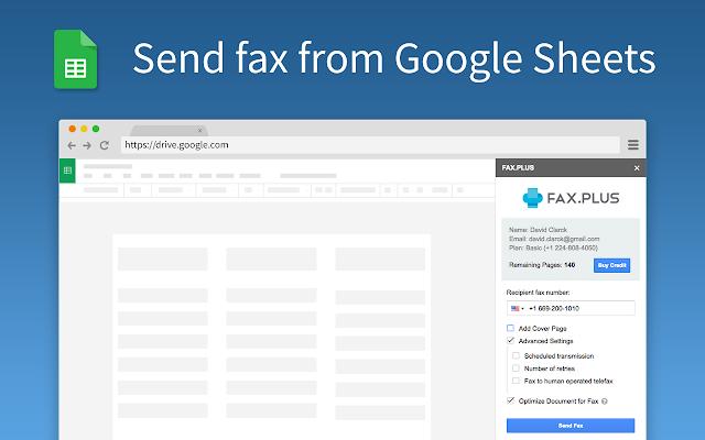 fax plus fax your document g suite marketplace