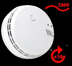 Ei166 Netzbetriebener 230V Rauchwarnmelder