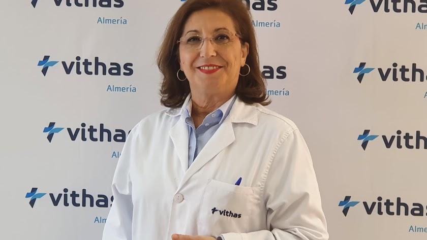 Pilar Espejo, nueva gerente del hospital Vithas Virgen del Mar, ha estado este jueves en el programa.