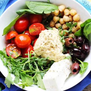 Mediterranean Hummus Bowl.