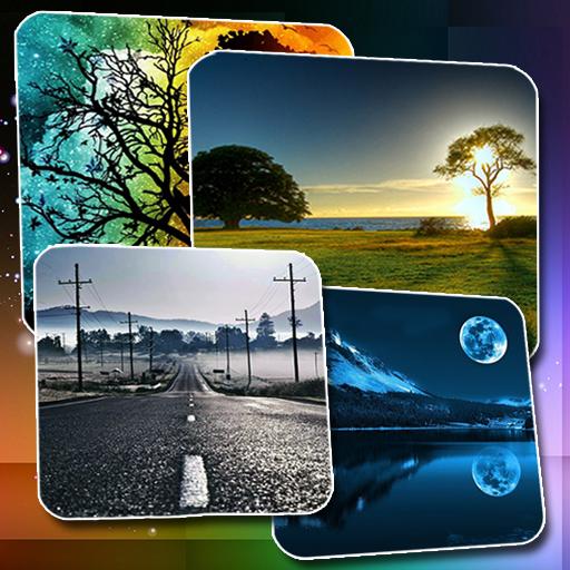 漂亮的高清壁纸免费 個人化 App LOGO-硬是要APP