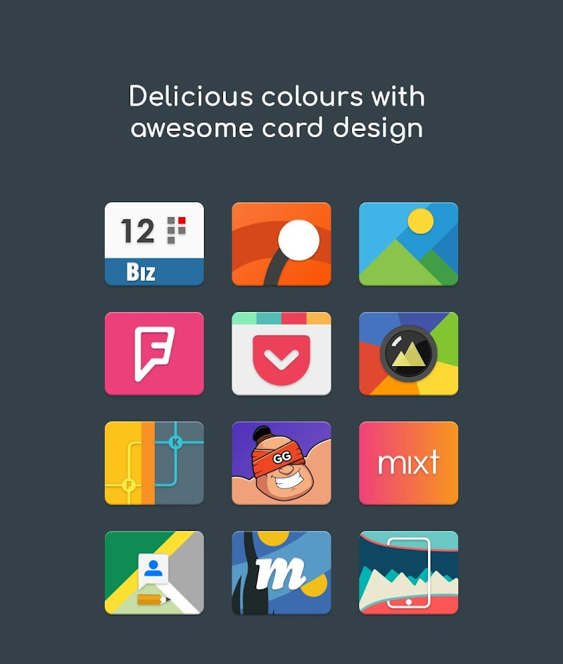 Card UI - Material Cards Icon Pack Screenshot 6