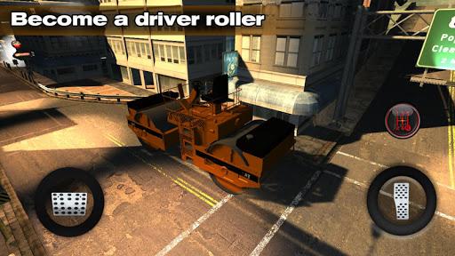 Roads Construction Roller 3D