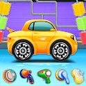 Kids Car Wash Salon And Service Garage icon
