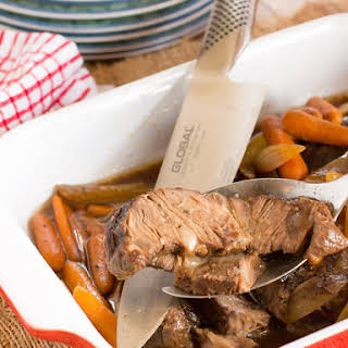 Sweet and Sour Crock Pot Beef Roast.