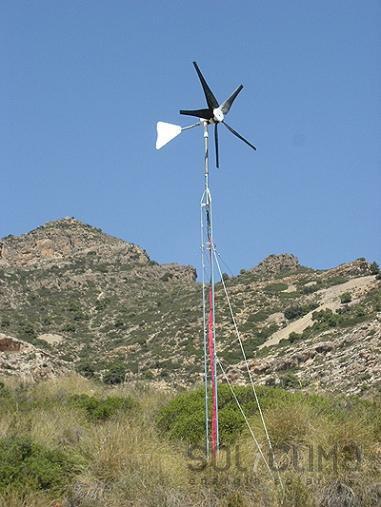 Aerogenerador para la energia eolica domestica