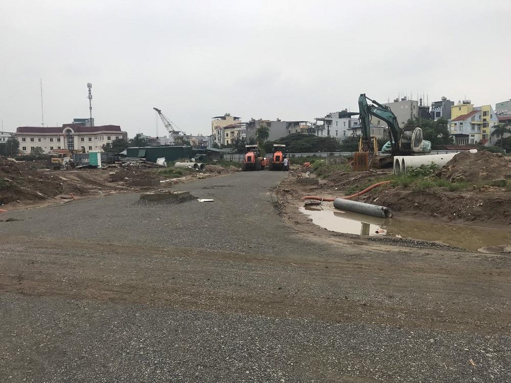 Các cung đường nội bộ tại dự án Tây Nam Kim Giang