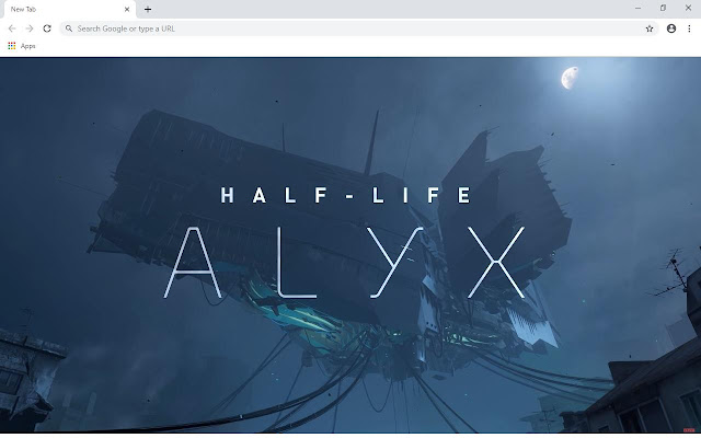 Half Life Alyx Wallpapers and New Tab