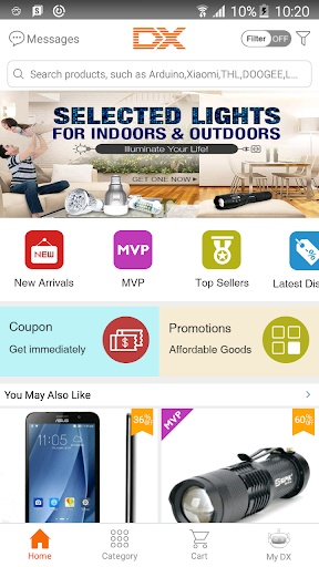 Shopping at DealExtreme  screenshot 1